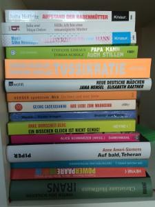 Bücherstapel 1 von Susanne
